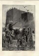 1897 parsee Funerale Caton Woodville Benin MASSACRO Mappa NIGER
