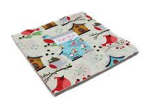 "Moda FABRIC Layer Cake ~ JINGLE BIRDS ~ by Keiki 10"" squares"