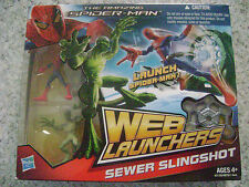 THE AMAZING SPIDER MAN WEB LAUNCHERS SEWER SLINGSHOT