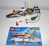 Lego City 60147 Fishing Boat  with instructions - no box