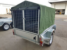 Trailer Canopy, Cover, Tarp, Canvas Canopy, 8x5, Camping, DIY, Canvas, 900mm