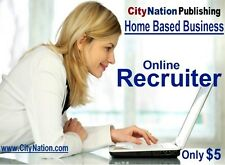 Entry Level, Work At Home, RECRUITING Business Opportunity (USA Only)