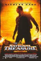 National Treasure Movie POSTER 27 x 40 Nicolas Cage, Diane Kruger, A