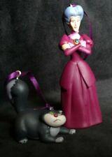 Disney Cinderella 70th Anniversary Christmas Ornament Set Lucifer and Stepmother