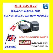 PLUG & PLAY MEGANE CABRIOLET,CONVERTIBLE,CC TEMIC WINDOW REGULATOR MOTOR MODULE