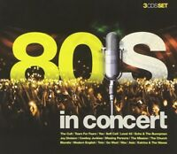 80'S IN CONCERT (Tears For Fears, Level 42, Blondie, Go West uvm.) CD NEW+