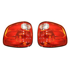 NEW TAIL LIGHT PAIR FITS FORD F-150 FLARESIDE BED 01-04 YL3Z13404AA YL3Z13405AA