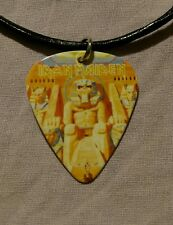 Iron Maiden Powerslave Guitar Pick Necklace - NEW
