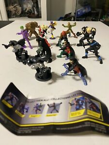 Spin Master Batman Universe MiniFigures Complete Wave 1 With 13 Different Figs