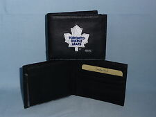 TORONTO MAPLE LEAFS  embroidered  Leather BiFold Wallet    NEW   black