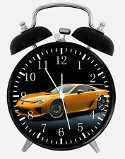 "Super Car LFA Alarm Desk Clock 3.75"" Home or Office Decor W188 Nice For Gift"
