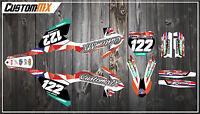 CustomMX - Graphics Kit: Fits KTM SX50 & SX65 models 2002-2020 Mini Adventure