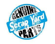 Distressed Aged Retro Genuine Scrap Yard Parts Euro Ratlook car sticker Decal