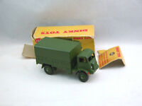 Dinky Toys 623 Army covered wagon camion militaire de transport /  Boîte  (#DkA)