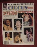 RARE CIRCUS magazine January 9 1979 Freddie Mercury Eddie Van Halen