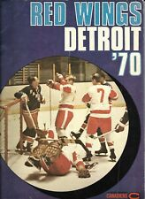 Montreal Canadiens - Detroit Red Wings 19.11.1969 NHL Official Program