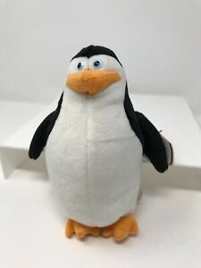 """Ty Beanie Baby Skipper Penguin Madagascar Movie 6"""" Tall  New Old Stock Mint Tags"""