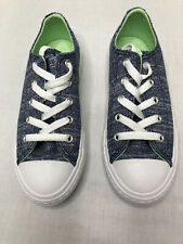 Converse All Star Unisex Kids Navy Aphid Green Size 13 Shoes Nwot