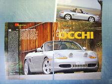 AUTO998-RITAGLIO/CLIPPING/NEWS-1998-PORSCHE CLASSIX BOXSTER - 3 fogli