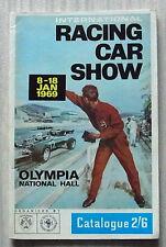 International Racing Car Show BRSCC programa de guía oficial 1969