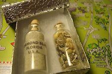 ORMOND BEACH Florida Daytona Beach Sand, Map * BONUS: Mini Shells in Bottle