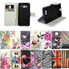 Stand Flip Wallet Leather Phone Cover Case For Samsung S6 Edge S5 S4 S3 Note 5 3