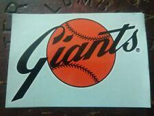 San Francisco Giants MLB Sticker Colortone  Decal Co