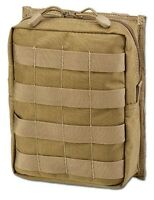 TASCA UTILITY SOFTAIR MOLLE LARGE COYOTE - DEFCON 5 D5-UPAVX CT AIRSOFT POUCH