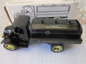 New in Box Ertl 1935 Mack Tanker Truck Bank