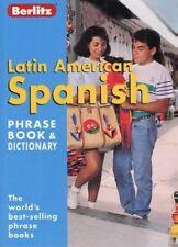 Latin American Spanish Berlitz Phrase Book and Dictionary (Berlitz Phrasebooks),