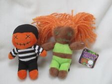 2 VOODOO DOLL SOFT TOY FIGURES ONE WITH TAG