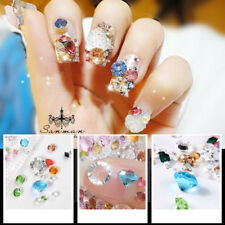 Wholesale Mixed Glass Rhinestone Crystal Nail Art Rhinestone Flatback Manicure