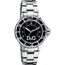 D&G Dolce & Gabbana Women's Anchor DW0511 Stainless Steel Black Dial Watch