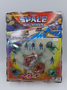 80'S VINTAGE MICRO GALAXY MONSTER MULTIMAC MINI SPACE MACHINES PLAYSET MIB