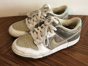 Nike Wmns Dunk Low 308608-121 White Tweed Bronzed Olive US Wmns Size 7.5