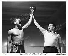 "Teenage Cassius Clay / Muhammad Ali Lim. Ed. Print 16x20"" - w referee Don Asbury"