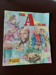 PANINI A-TEAM STICKER BOOK  - 1983 (221 OUT OF 240)