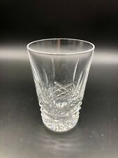 "Cut Crystal Whiskey Glass, 3 1/4"" Tall, 2 3/8"" Top Opening Diameter"