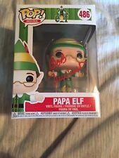 """Funko Pop Signed Autographed Bob Newhart """"Papa Elf"""" Elf"""