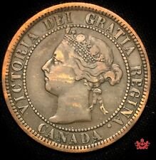 1892 Canada 1 Cent OBV2 - VF - Lot#724