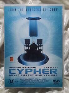 Cypher DVD - 2002 Sci Fi Movie Jeremy Northam -Vincenzo Natali