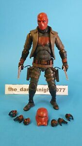Medicom Mafex Custom Red Hood Jason Todd Figure. Base Body - Knightmare Batman.