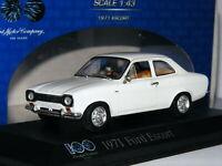 Minichamps 1971 Ford Escort Mk1 1300L White 100 Year FoMoCo 1/43