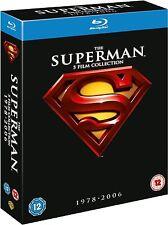 PACK SUPERMAN 1 2 3 4 ANTOLOGIA BLU RAY CASTELLANO NUEVO PRECINTADO