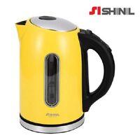 SHINIL Colorfull Cordless Electric Tea Pot Kettle Temperature Control 1.7L