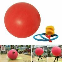 72 Inch Latex Giant Human Egg Balloon Round Funny Game Home Playing Balloon R2E0