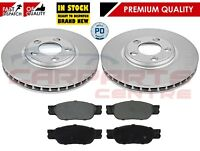 FOR JAGUAR S TYPE 2.7 3.0 4.0 99-04 FRONT MEYLE VENTED BRAKE DISCS AND PADS