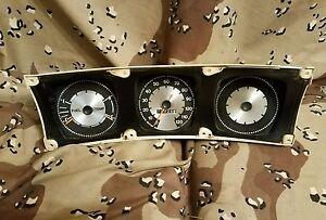 1971 1972 1973 1974 AMC Javelin 120-mph speedometer gauge cluster oem sst