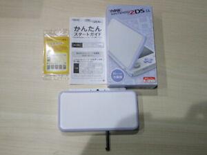 New Nintendo 2DS LL XL PurplexWhite Complete Japanese Q215