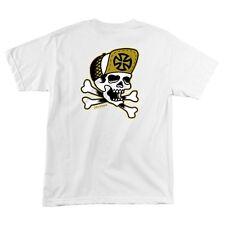Independent Trucks Eric Dressen Skull And Bones Skateboard T Shirt White Medium